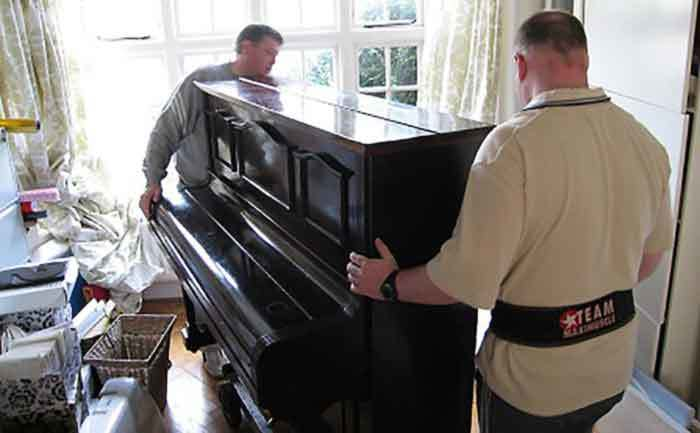 Upright Piano Moving